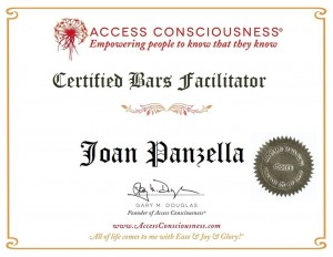 Joan Panzella - Certified Bars Facilitator