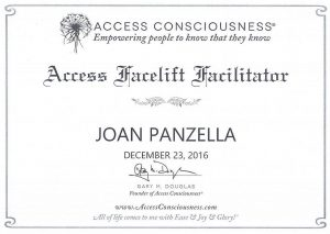 Joan Panzella - Access Facelift Facilitator